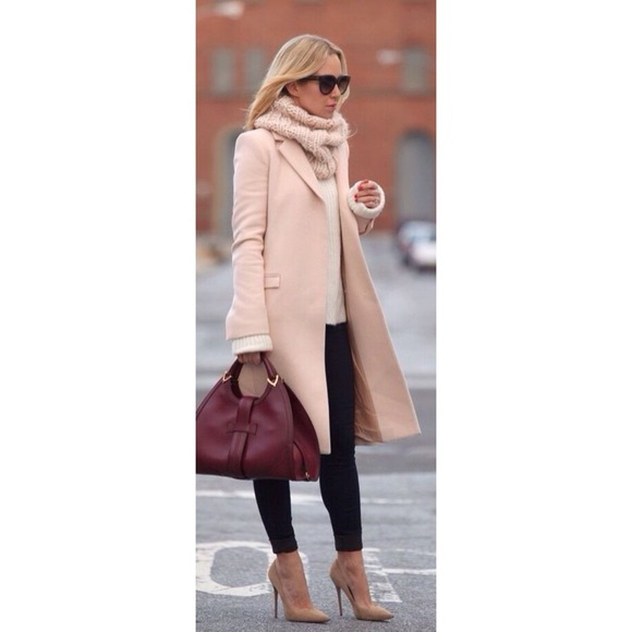 66% off Outerwear - Light pink pea coat from Lillian's closet on ...
