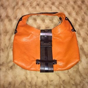 Orange and Brown Purse