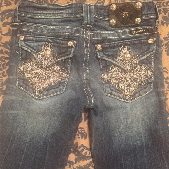 65% off Miss Me Denim - Miss Me Jeans Size youth 14 with an inseam ...