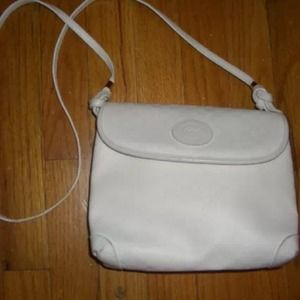 Gucci Vintage White Crossbody Bag