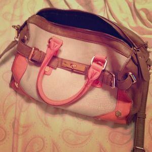 Melie Bianco Structured Handbag w/ strap