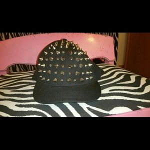 Studded baseball cap brand new, never worn!