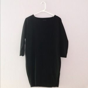  HP!  NWOT Oversized black dress