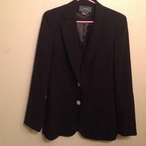Ralph Lauren Black Wool Boyfriend Blazer NWOT SZ 6