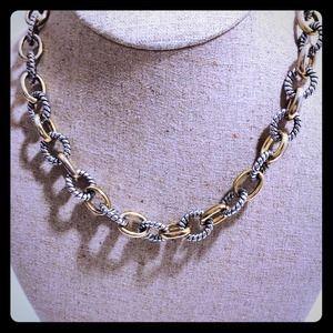 Unknown set of 5 david yurman inspired bracelets worn for David yurman inspired jewelry rings