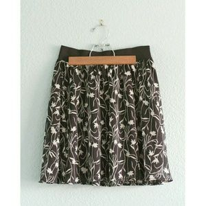 Mossimo | Flowy Floral Skirt