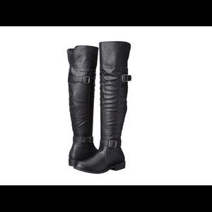 Madden girl over the knee boot