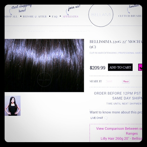 How Much Is Shipping For Bellami Hair Extensions Hair Extensions