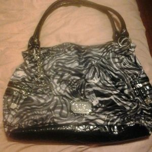 gia milani Handbags - Nice black and grey handbag