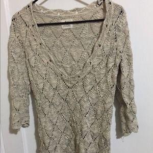 Low neck Sweater dress