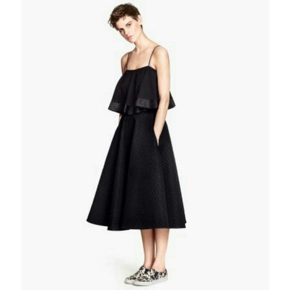 h m host h m textured midi skirt from gigi s