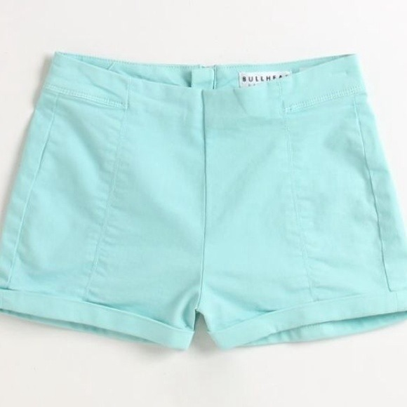 PacSun - *SOLD*Mint Bullhead high waisted shorts from Katie's ...