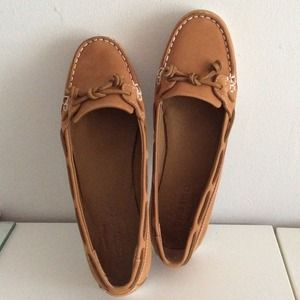 Sebago Shoes - NWOT💛Sebago Felucca Lace Leather Moccasin Shoe