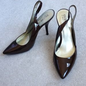 "Guess Shoes - Guess ""Jacket"" Slingback Pumps"