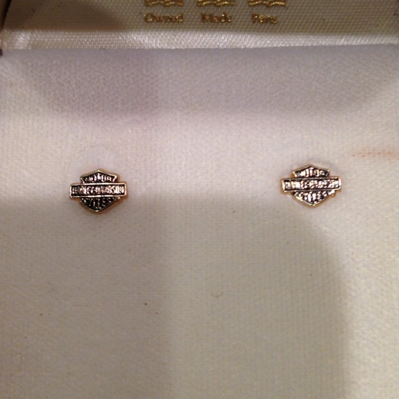 1ea1303cc Jewelry | Harley Davidson Stud Earrings | Poshmark