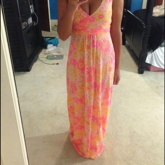 Lilly Pulitzer Dresses Sloane Maxi Dress Poshmark