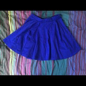 67 cotton on dresses skirts cotton on cobalt blue