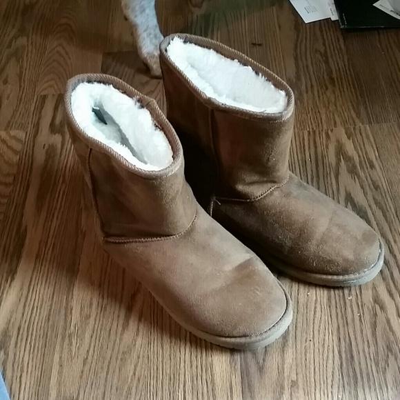 a11b1b68a06 Ugg look alike fur boots