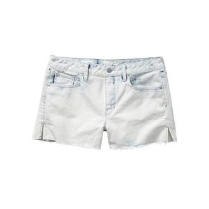 GAP 1969 Bleach White Denim Cutoff Shorts 26