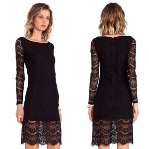 Blaque label Dresses & Skirts - + BLAQUE LABEL black lace sexy dress NWT +