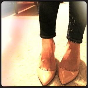 J. Crew Shoes - 🍑 SALE! J Crew Patent Valentina Pumps in Apricot