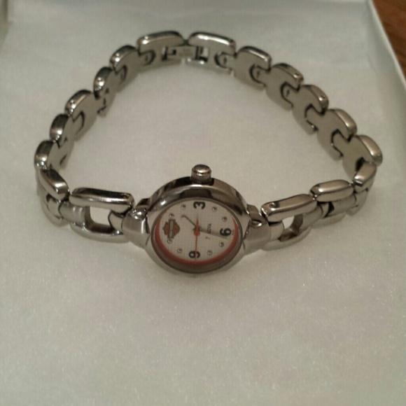 Harley Davidson Charm Bracelet: Harley Davidson Bracelet Bulova Watch