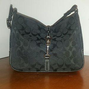 Coach Handbags - Coach Signature Clip Hobo