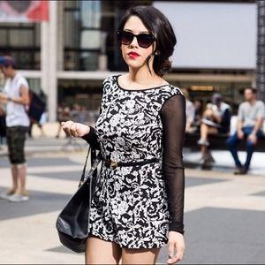 Macy's Dresses & Skirts - Black & White Romper