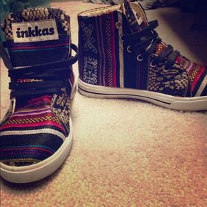 Inkkas high top shoes