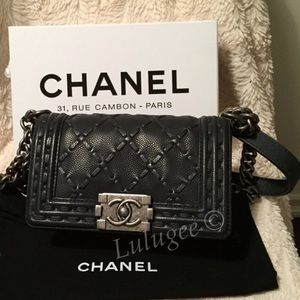 💕NFS 2014 Limited Edition Chanel Boy Just sharing