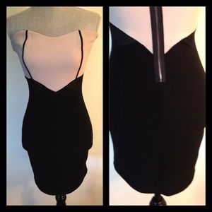 ANGL Dresses & Skirts - Preowned Bodycon Sexy Dress with side mesh details