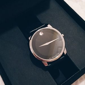 NEW  Movado Museum Classic Stainless Steel Watch
