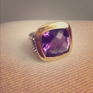 NWOT David Yurman Albion amethyst ring