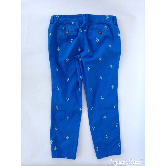 Old Navy - Old Navy blue khakis capris anchor sailor from Erica's ...