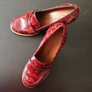 Marc by Marc Jacobs RED!! Penny Loafers