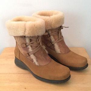 864e24b88 La Canadienne Shoes - La Canadienne Annabella Shearling Boots
