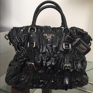 Prada Handbags - 💯 Authentic Prada patent purse