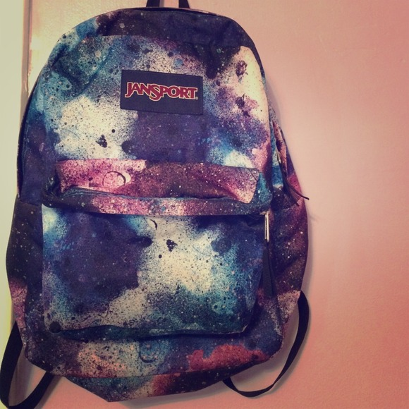 44% off Jansport Other - ‼️SALE‼️Galaxy print backpack from ...