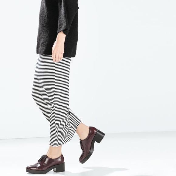 Striped Skirt Long - Dress Ala