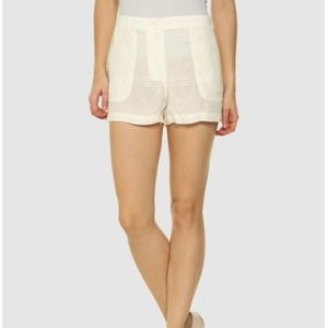 New Alexander Wang sheer utility pocket shorts