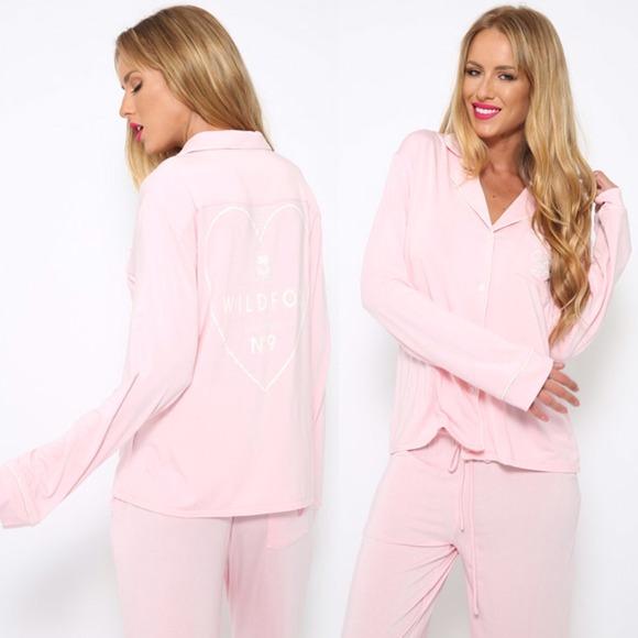 Wildfox Pink Love Potion Pajama PJ Set. M 54b073eb93c636053202d197 390aa8527