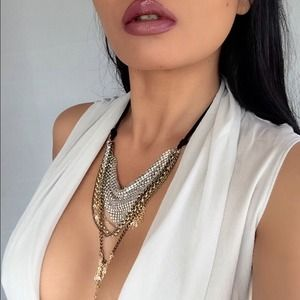Multi layered necklace by Steve Madden