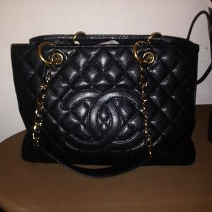 Chanel GST Caviar bag