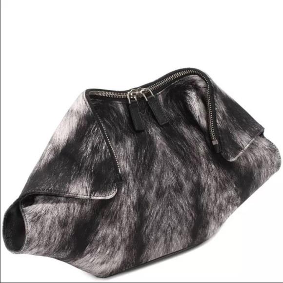 28143375197f Alexander McQueen Bags | Nwt Furprint De Manta Clutch | Poshmark
