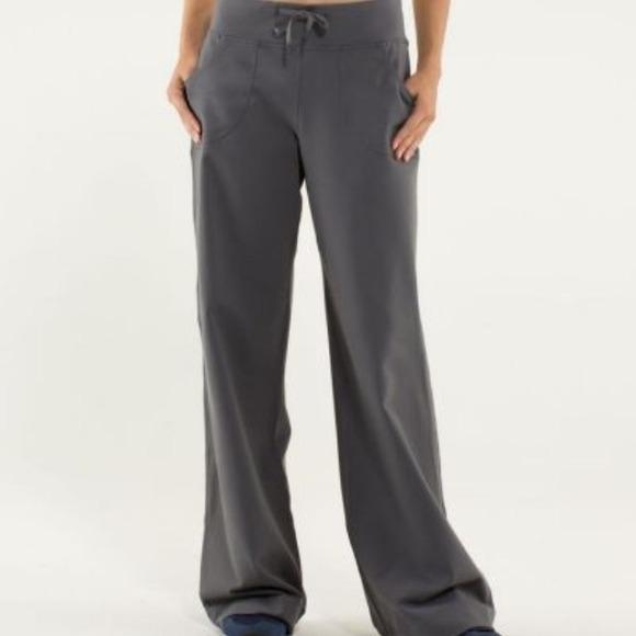 5cbc557fec61a lululemon athletica Pants - SALE ✨ Gray Lululemon Still Pants Size 4 EUC