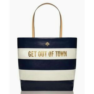 Kate Spade Get Out of Town Bon Shopper Tote Bag