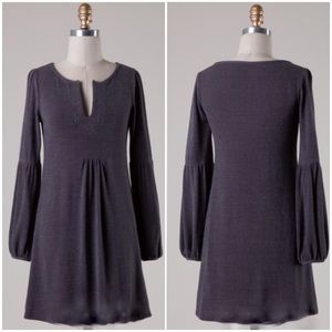 Dresses & Skirts - NWT Charcoal Belle Sleeve Tunic Dress