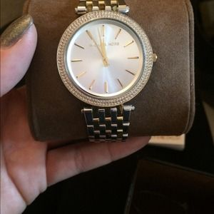 Nwt Michael kors two toned watch