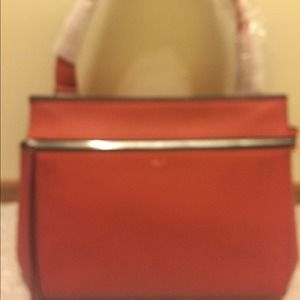 49% off Celine Handbags - CELINE PYTHON \u0026amp; LEATHER EDGE from ...