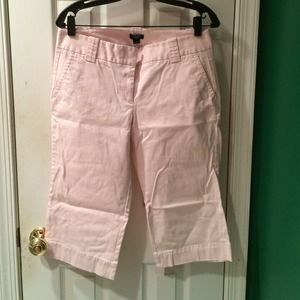 Jcrew size 8 light pink Capri stretch